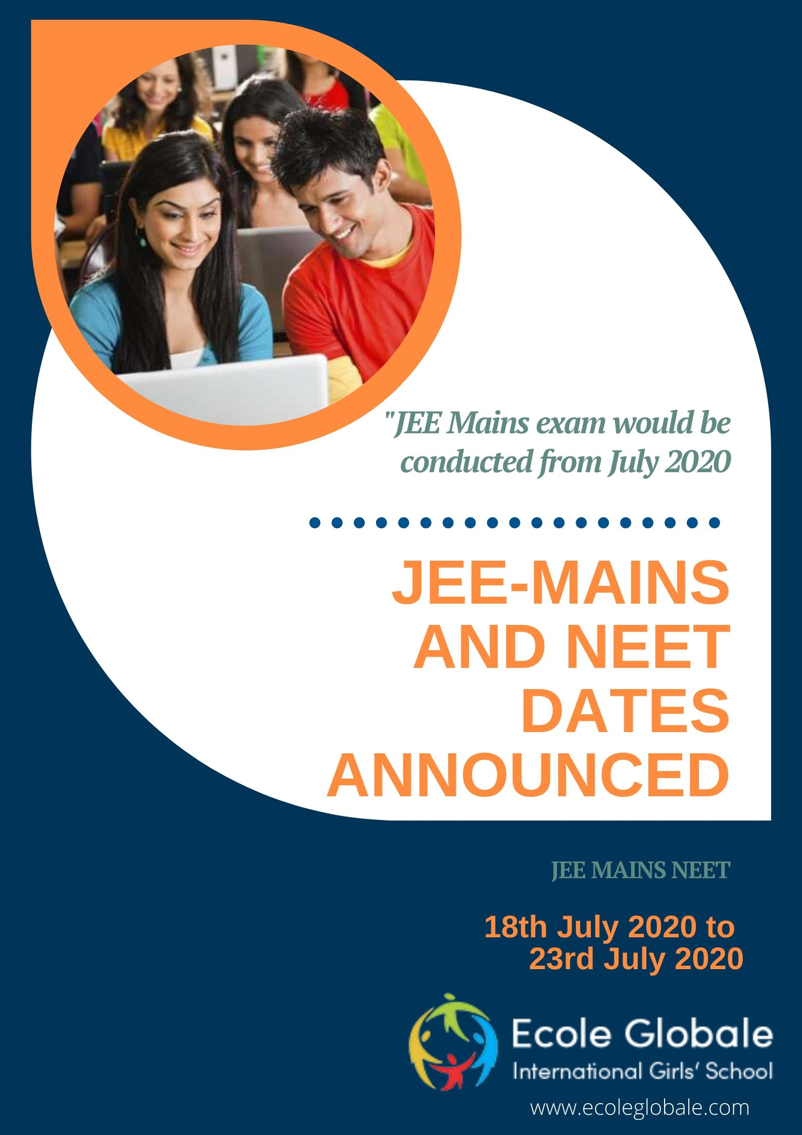 JEE MAINS AND NEET TO BE CONDUCTED IN JULY: HRD MINISTER ANNOUNCES THE DATES