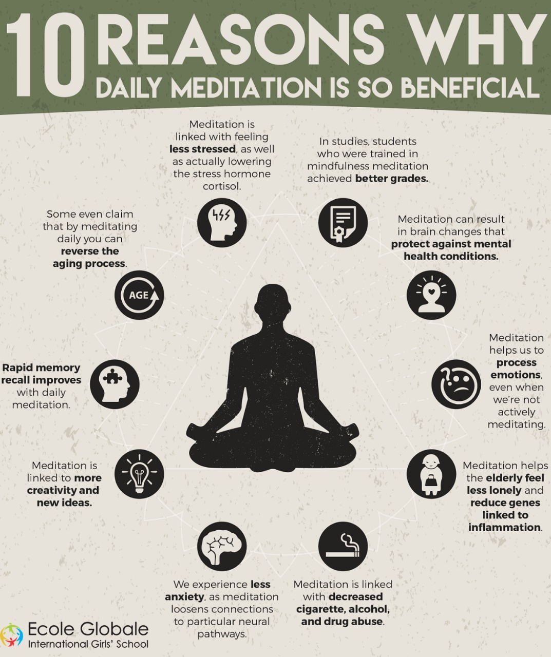 Benefits of daily meditation when you're mentally exhausted