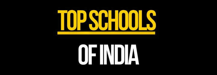 Top 21 Schools of India