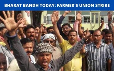 BHARAT BANDH TODAY: FARMER'S UNION STRIKE