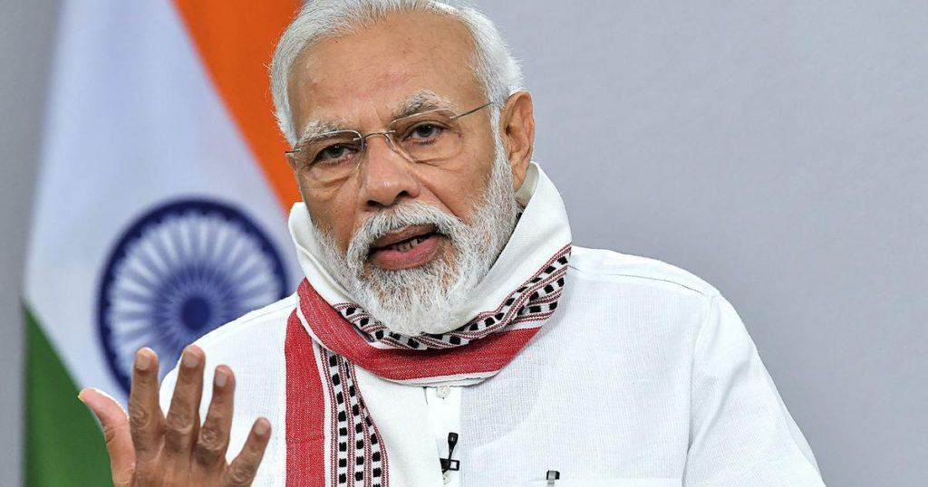 PRIME MINISTER MODI ADDRESSES THE NATION ASKING CITIZENS TO BE CAUTIOUS AGAINST COVID-19