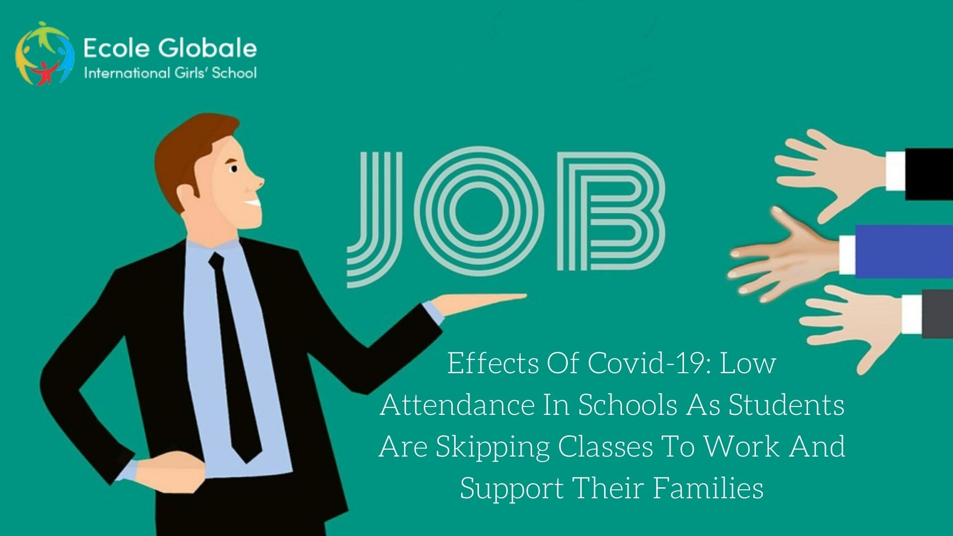 Effects Of Covid-19: Low Attendance In Schools As Students Are Skipping Classes To Work And Support Their Families