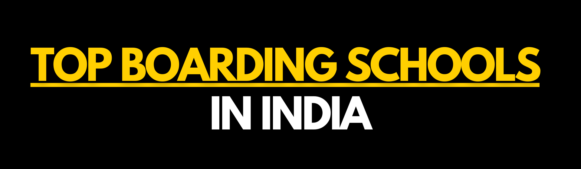 List of top boarding schools in India