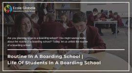 Routine In A Boarding School