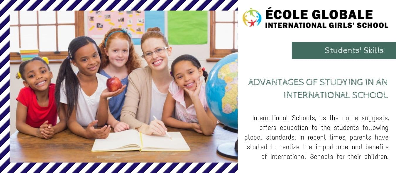 How International Schools In India Nurture Students Skills
