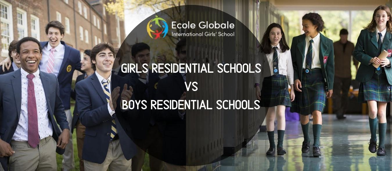 Girls Residential Schools Vs Boys Residential Schools