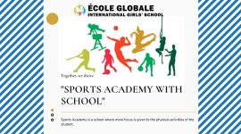 Importance Of Sports Academy With School