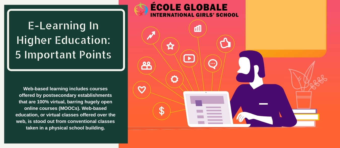 E-Learning In Higher Education: 5 Important Points