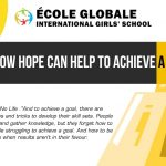 How Hope Can Help To Achieve A Goal