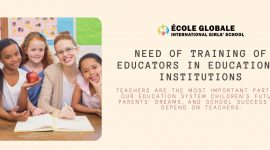 Need Of Training Of Educators In Educational Institutions