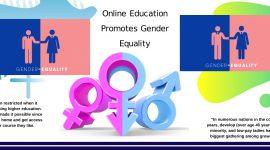 Online Education Promotes Gender Equality