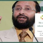 No child deprived of online education during a pandemic: Javadekar