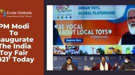 PM Modi To Inaugurate 'The India Toy Fair 2021'