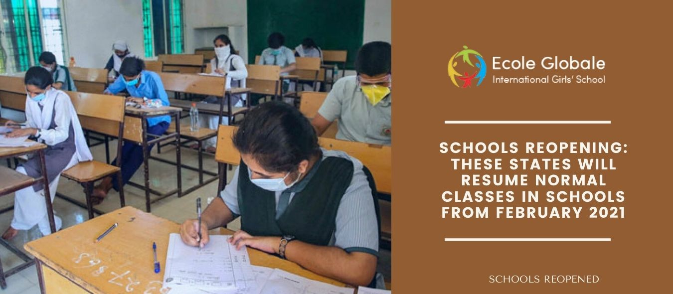 Schools Reopening: These states will resume normal classes in schools from February 2021