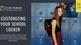 Customizing your school locker