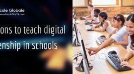 Reasons to teach digital citizenship in schools