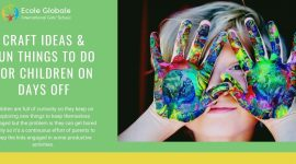 Craft ideas & fun things to do for children on days off
