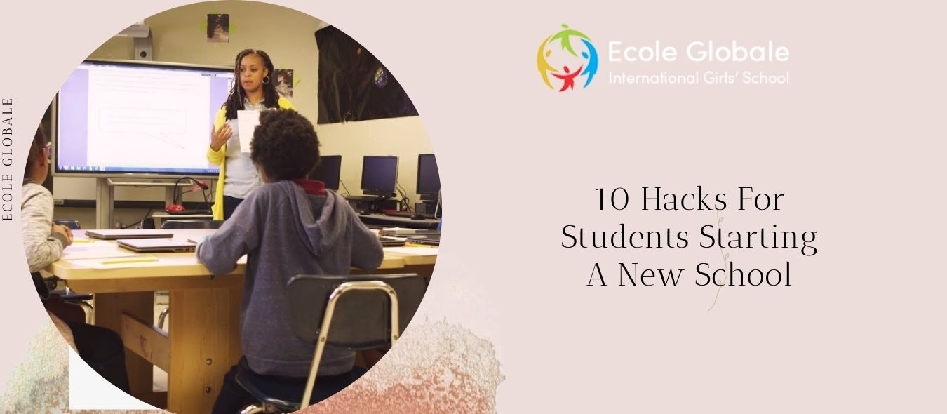 10 Hacks For Students Starting A New School