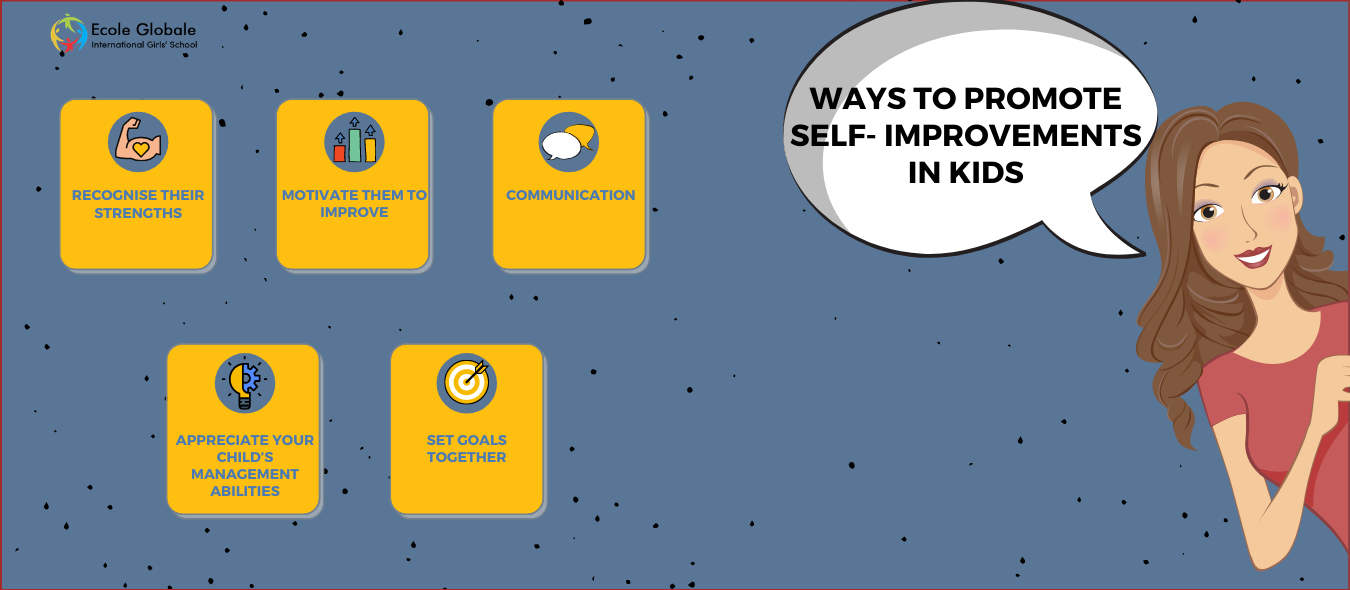Ways To Promote Self- Improvements In Kids