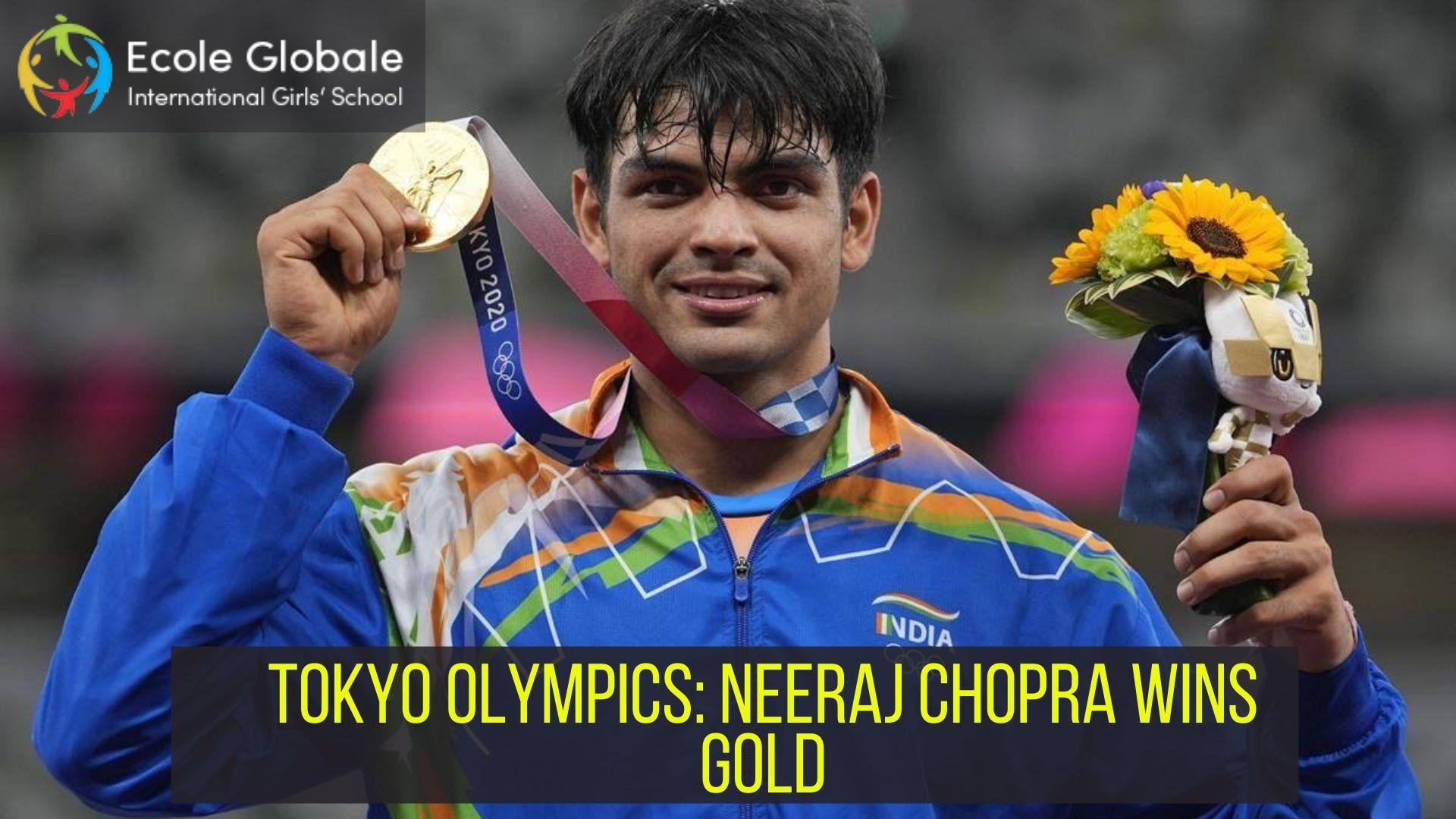 TOKYO OLYMPICS: NEERAJ CHOPRA WINS GOLD