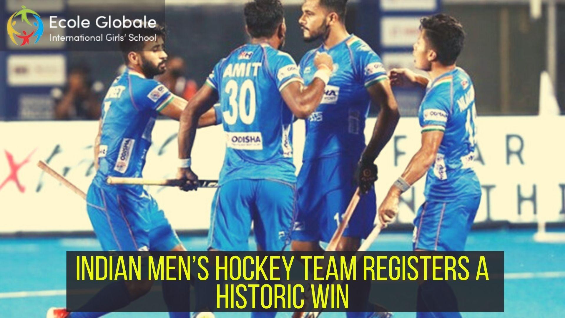 Tokyo Olympics: Indian Men's Hockey Team Registers a Historic Win