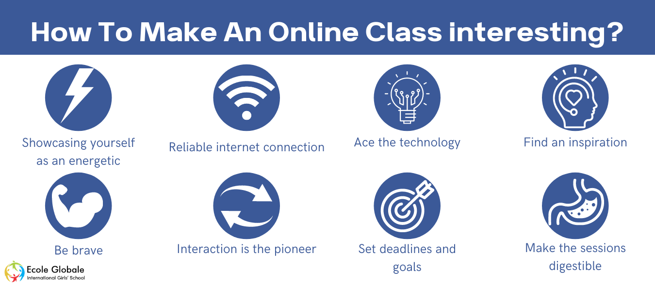 How To Make An Online Class interesting?