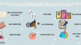 LIST OF FUN ACTIVITIES FOR THE LAST DAY OF SCHOOL