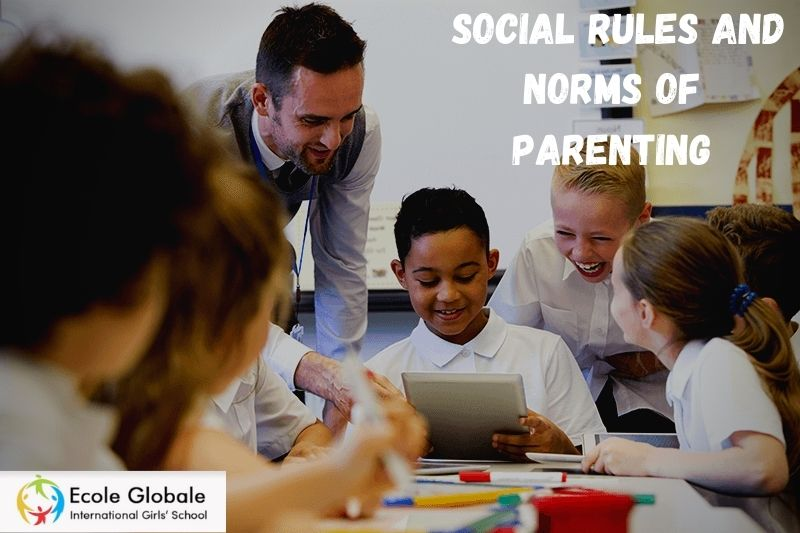 Navigating through unspoken social rules and norms of parenting