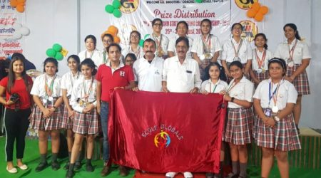 Ecole Global International Girls' School wins 98 Medals in  18th Uttarakhand Open State Level Shooting Championship