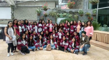 Mid-term trip was organised by the school to Mussoorie, Shimla & Nainital.