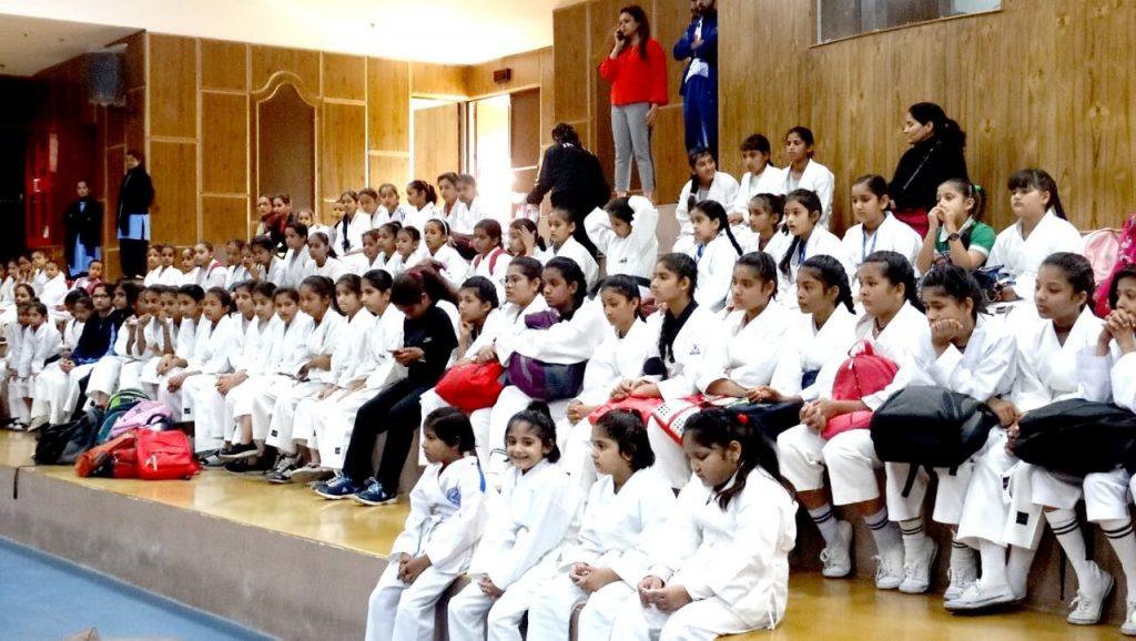 District Krida Bharti Women Karate Championship