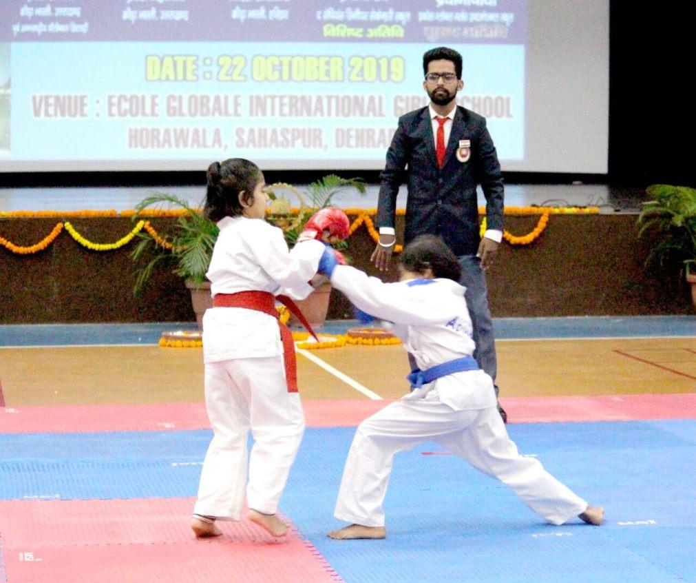 District Krida Bharti Women Karate Championship (2)