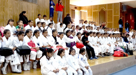 District Krida Bharti Women Karate Championship