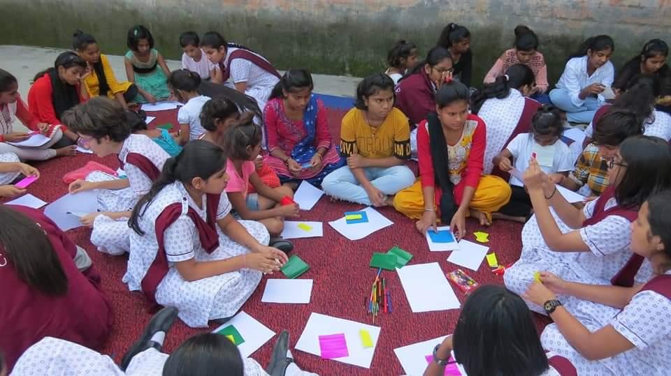Ecole Community Service- 'Apna Ghar' NGO (2)