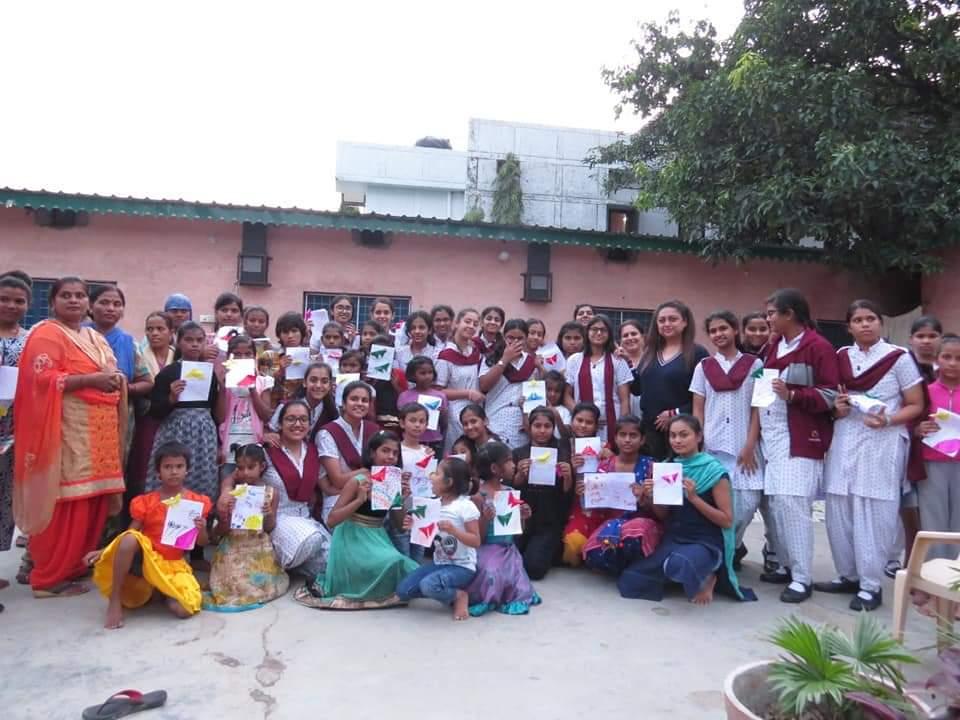 Ecole Community Service- 'Apna Ghar' NGO (3)