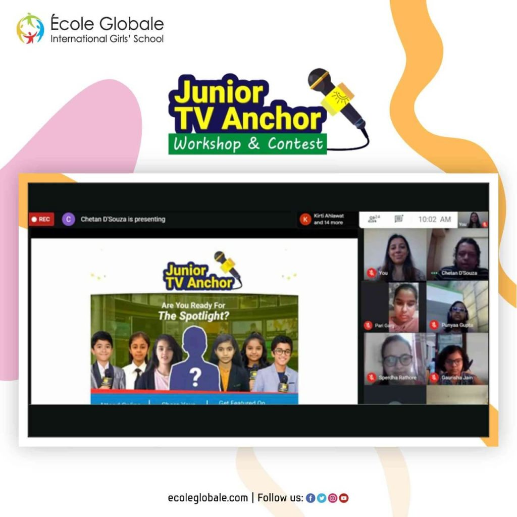 Junior TV Anchor Workshop