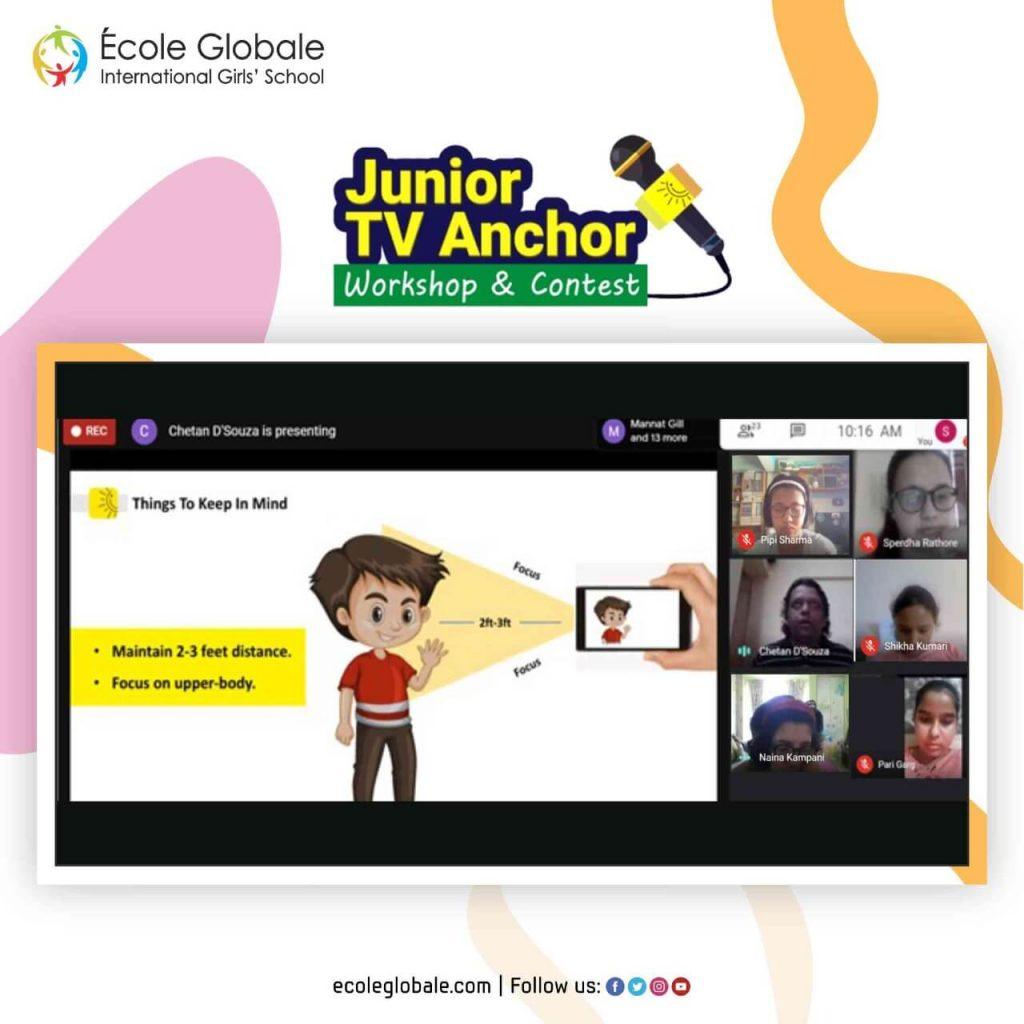 Junior TV Anchor Workshop